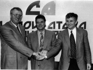 НА ПРАВОМ МЕСТУ – Опозиција 1994- Доктори Војислав Шешељ, Војислав Коштуница и Зоран Ђинђић