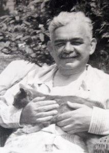 Душан Шијачки у време које је, све до смрти, провео у изолацији