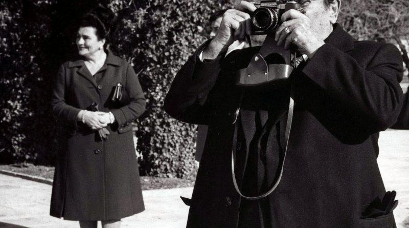 Тито с Јованком на једном од снимања
