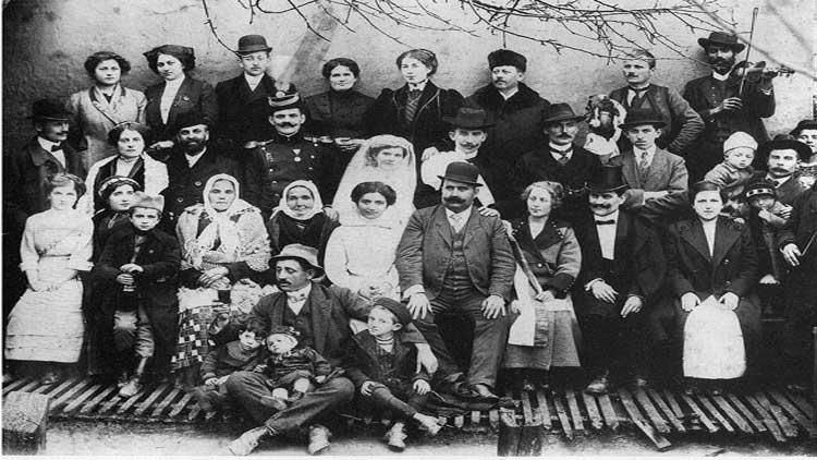 Карактеристична свадба на почетку 20. века