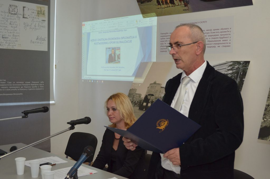 Петар Кочић, председник Друштва новинара Војводине