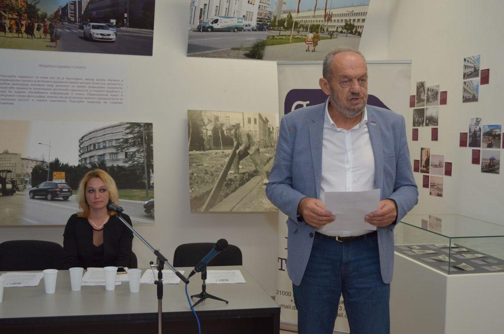 Помоћник покрајинског секретара за културу и информисање Ђорђе Вукмировић.