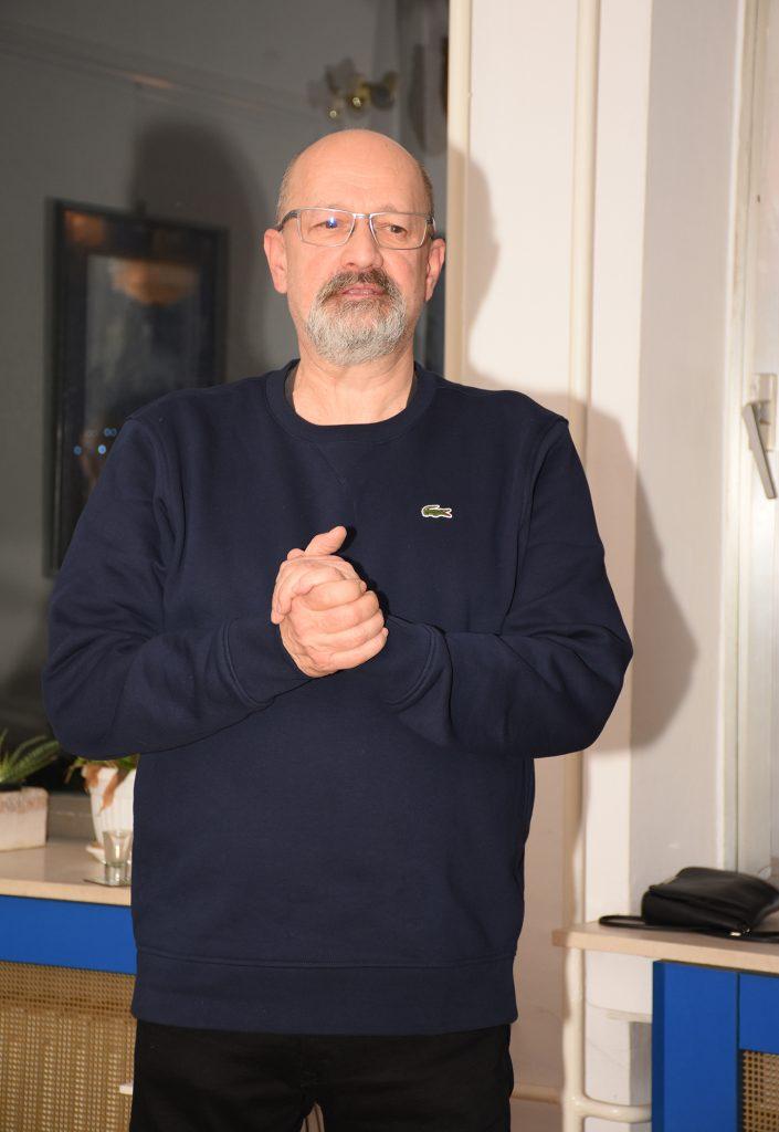 Горан Јевтић, аутор изложбе