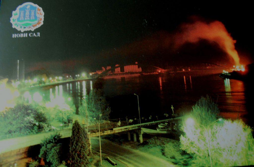 (Жежељев мост дуго је одолевао бомбама и ракетама-фото: Миљан Чубрановић